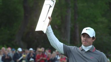 McIlroy's 2014 Wentworth win