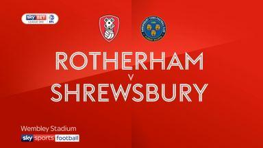 Rotherham 2-1 Shrewsbury AET