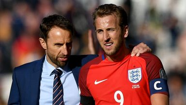 Southgate: Kane to captain England at WC