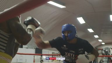 Haye sparring footage!