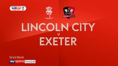 Exeter 3-1 Lincoln (Agg: 3-1)
