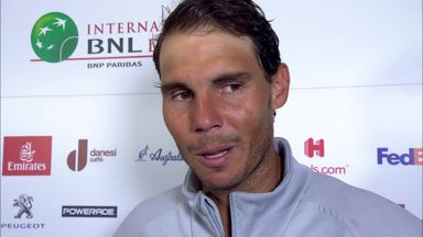 Nadal grabs eighth Rome title