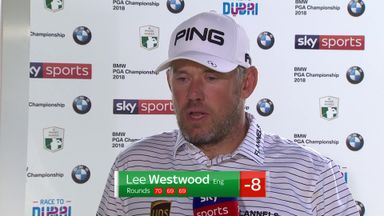 Westwood happy with consistency
