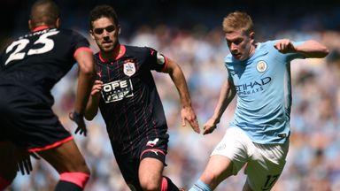 Manchester City 0-0 Huddersfield