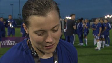 Chelsea Ladies celebrate title win