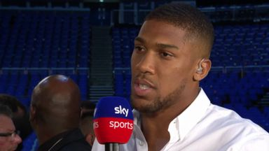 Joshua: Wilder fight will happen