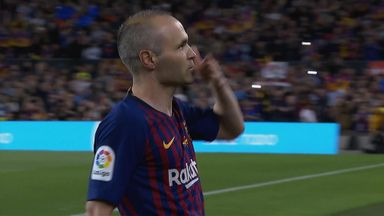 Iniesta's final farewell