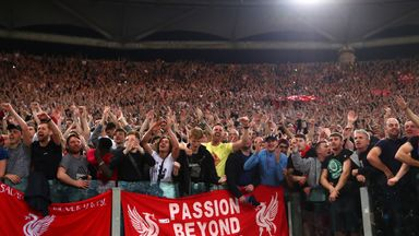 Liverpool fans face travel chaos