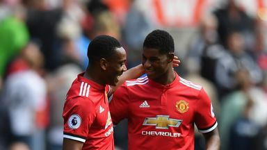 Giggs: Martial, Rashford must step up