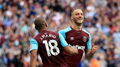 Marko Arnautovic's was 'unplayable' says West Ham boss David Moyes