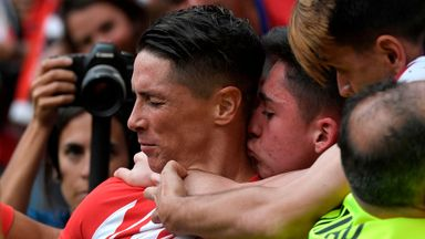 Torres scores brace in final bow