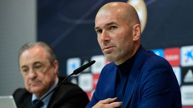 Zidane resigns as Real head coach
