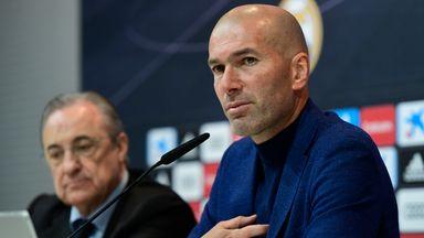 Zidane resigns as Real head coach