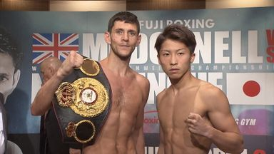 McDonnell makes weight