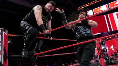 Reigns clashes with Owens