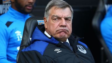 Everton sack Sam Allardyce