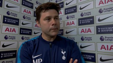 Poch happy with Champions League place