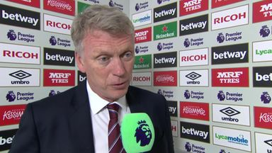 Moyes praises 'great performance'