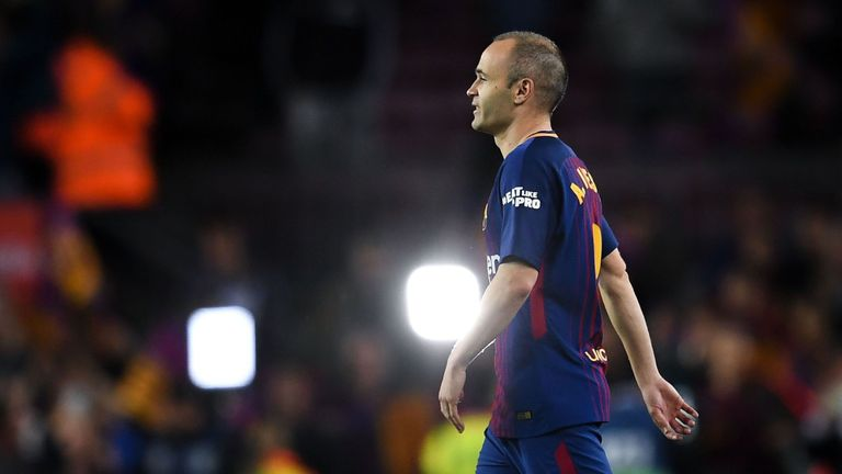 Barcelona's Andres Iniesta: Next move not about boosting wine brand