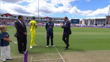 Eng v Aus 4th ODI - The Toss