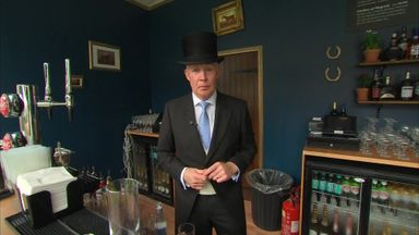 SSN's David Craig learns how to make cocktails