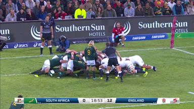Tempers flare in Eng v SA