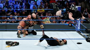 SAnitY wreak havoc on The Usos