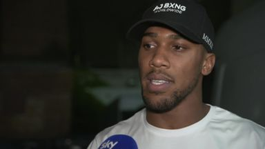 AJ backing Whyte by knockout
