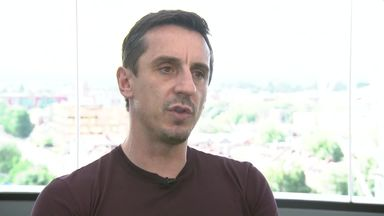 Neville: Spain and Brazil WC favourites