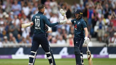 England break ODI record