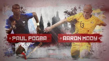 Russia 2018: Pogba v Mooy