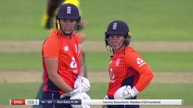 England smash WT20I record