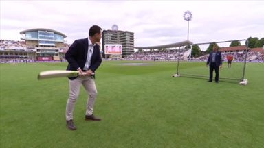 Ponting's batting drills