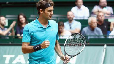 Federer v Ebden: Highlights