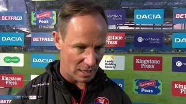Leeds v St Helens: Holbrook reaction