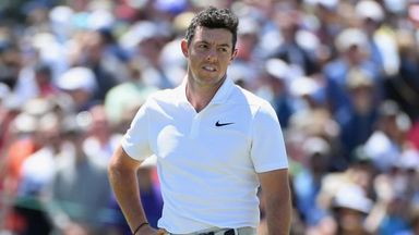 What's happened to McIlroy?