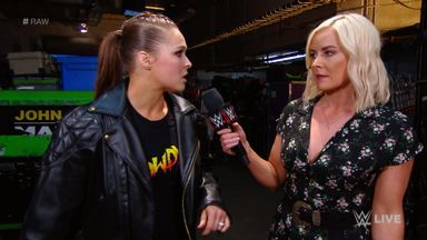 Ronda Rousey is coming for Alexa Bliss