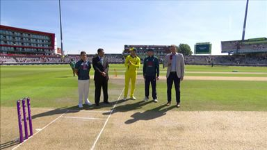 Eng v Aus 5th ODI - The Toss