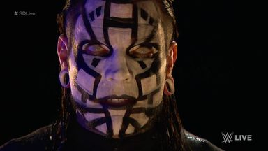 Jeff Hardy 'sees' Shinsuke Nakamura