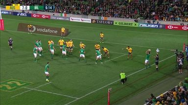 Conway try gets Ireland going