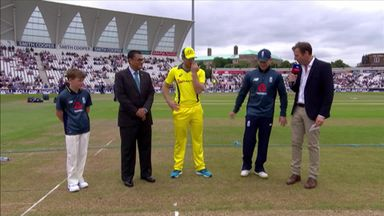 Eng v Aus 3rd ODI - The Toss