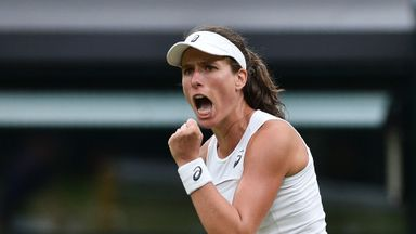 'Konta can improve on Wimbledon SF'