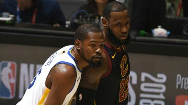 James: Durant one of the best