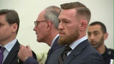 McGregor appears in court