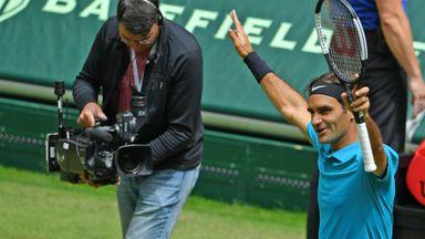Federer v Kudla: Highlights