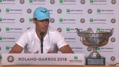 Nadal emotional after Paris success
