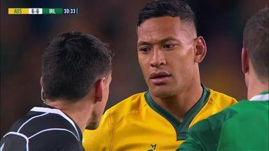 Falou yellow card