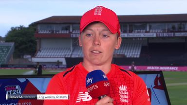 Knight: England Women hunting records