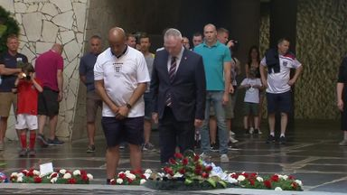 FA delegation lays wreath in Volgograd
