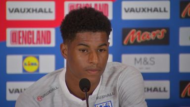 Rashford: Kane leading by example